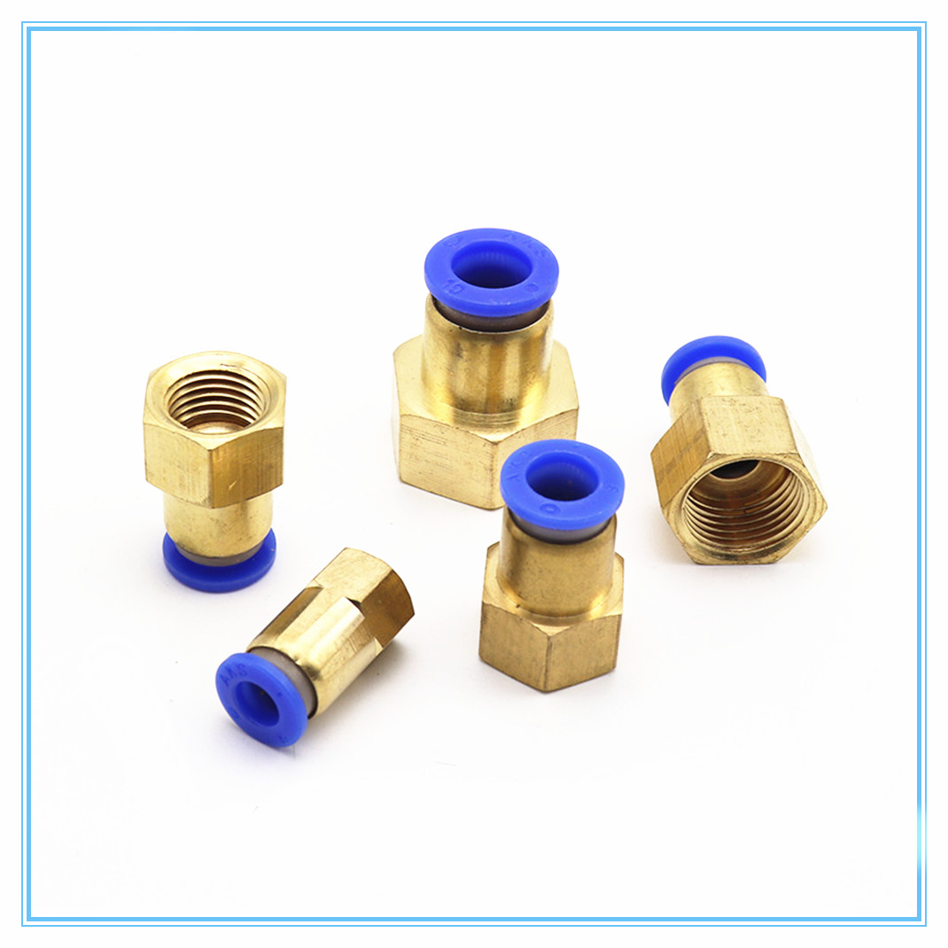 Air Pipe Fitting 10mm 12mm 8mm 6mm Hose Tube 1/8