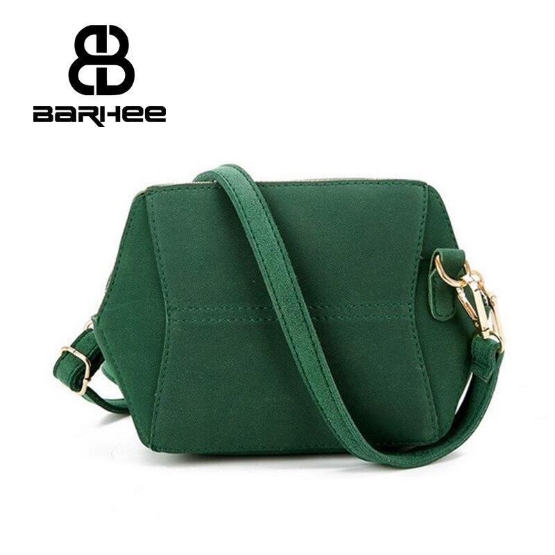 BARHEE Simple Mini Women Crossbody Tas Grijs Designer Messenger Bag - Handtassen - Foto 2