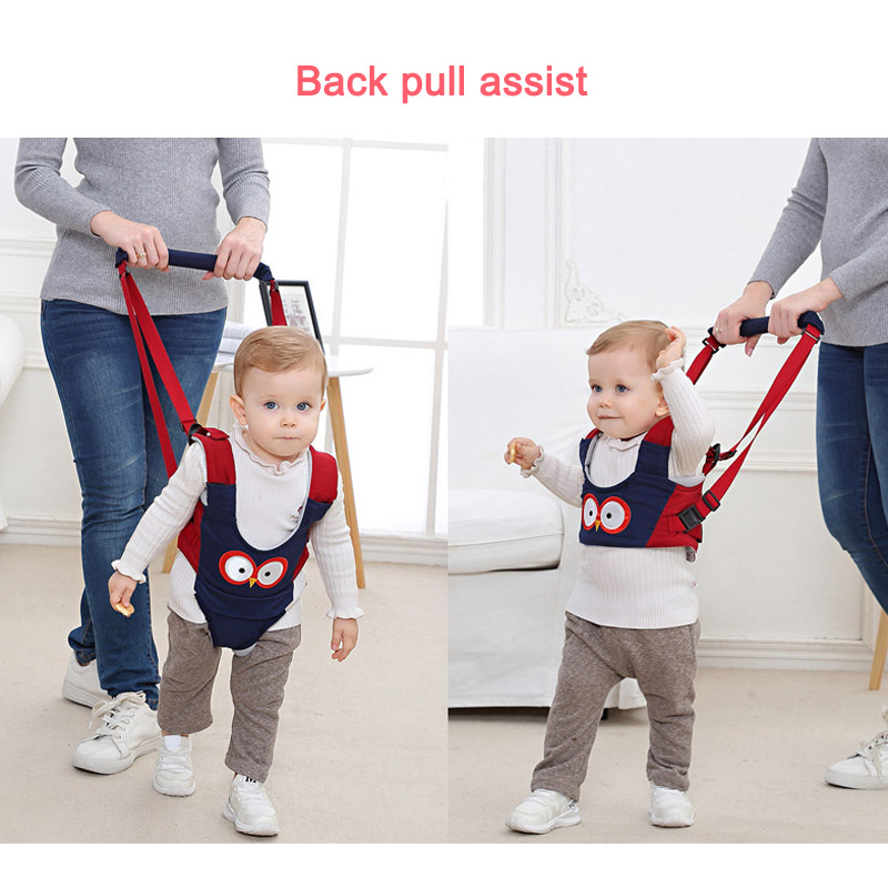 Baby Toddler Walking Assistant Protective Belt Carry Trooper Harness Learning Walk Aid S7JN