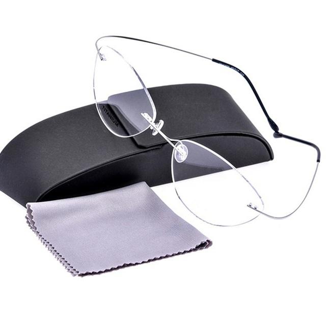 2017 nova marca ultra super elastic titanium óculos de armação ultraleve miopia prescrição eyewear
