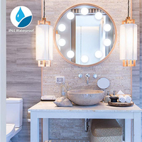 Hollywood Style DIY Natural LED Light Bulbs USB Charging Port Cosmetic Lighted Make up Mirrors Vanity LED Light Bulbs Kit