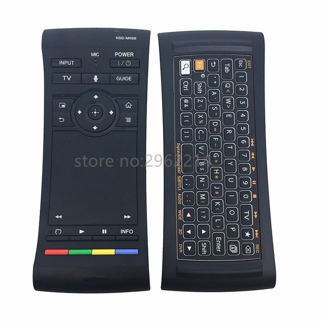 Remote Control Nsg Mr9b Voice Touch For Sony Tv Keyboard Touchpad Nsz Gu7