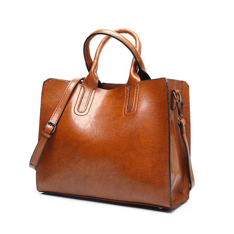 SWDF Hot Sale Women Leather Bag Handbags Famous Brands Big Casual Women Bags Tote Spanish Brand Shoulder Bag Ladies Large Bolsos