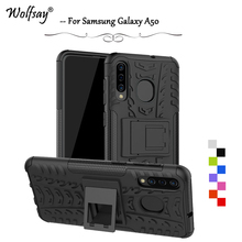 For Samsung Galaxy A50 Case Shockproof Armor Rubber Hard Phone Back Cover A 50 Shell