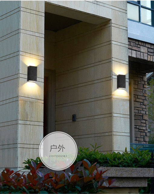 12 w IP65 Waterdichte outdoor muur verlichting/outdoor wandlamp/LED ...