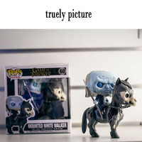 Funko Pop Game of Thrones Figures Night King Mounted White Walker #60 Vinyl Action Figure Collection toys gifts doll with box