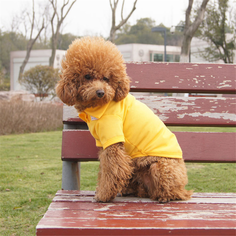 Pure-Color-Dog-Polo-T-Shirt-Cotton-Dog-Clothes-Spring-and-Summer-Vest-for-Teddy-Puppy (2)