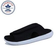 Мужские тапочки легкие сандалии Аутдоринг мужские тапочки Пляжные сланцы летом прохладно Стиль для Мужская обувь