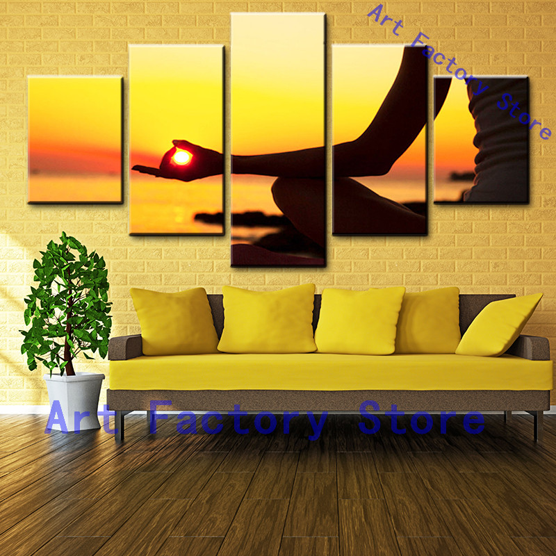 Canvas Painting HD Printed Wall Art Photos Photo Living Room Frame 5 ...