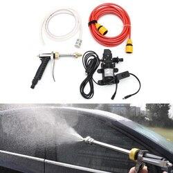 Narzędzia do czyszczenia samochodu podkładka pod wysokim ciśnieniem zestaw motocykl samochodowy elektryczny podkładka samozasysająca umyć zestaw pompy