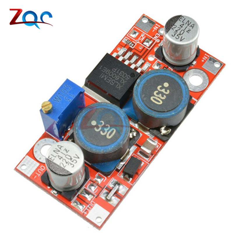 цена на XL6009 DC-DC Step Up Step Down Boost Buck Power Supply Module 3.8-32V To 1.25-35V Voltage Regulator Converter