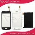 Para samsung galaxy star advance sm-g350e g350e touch screen digitador com adesivo + rastreamento