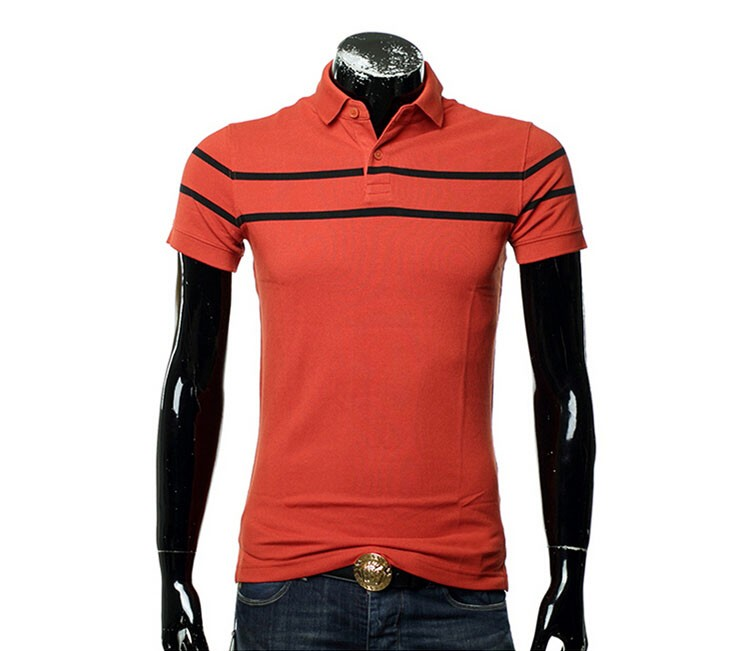 Polo Men Fashion Casual Classic Striped Golf Polo Shirt Slim Fit Summer Cotton Short Sleeve Tee Camisa Polos Homme Plus Size 3XL (11)