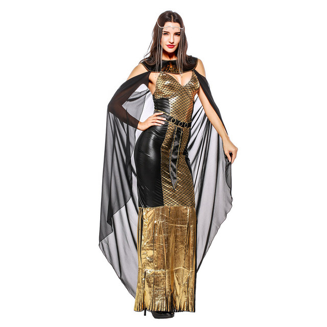 seseria carnaval adultos cosplay egyptian cleopatra costume gothic sexy halloween costumes for women