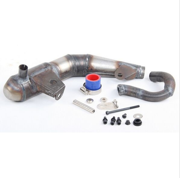 15 rc car gas silent pipe exhaust for Losi 5ive T Rovan