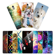 Soft TPU for Lenovo Vibe P1M Transparent Silicone Phone Case Cover for Lenovo P1ma40 Slim Phone Protection Shell Animal Coque(China)