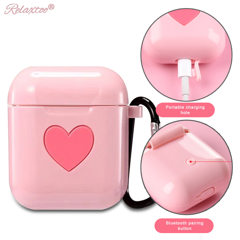 Cute Soft Silicon case For AirPods Protector cover Sleeve Colorful Case for Apple Air Pods Wireless Earphone box accessories цена