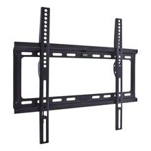 ТВ Кронштейн Kromax IDEAL-3 new black ( 22-65, max 50 кг, от стены 23мм, max VESA 400x400мм, водяной уровень)