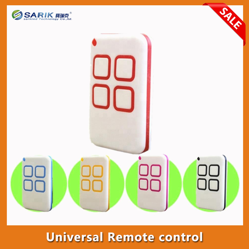 2X Universal Multi frequency 280 868MHZ 4 Button Key Fob Remote Control rolling code and fixed code free shipping-in Remote Controls from Consumer Electronics    1