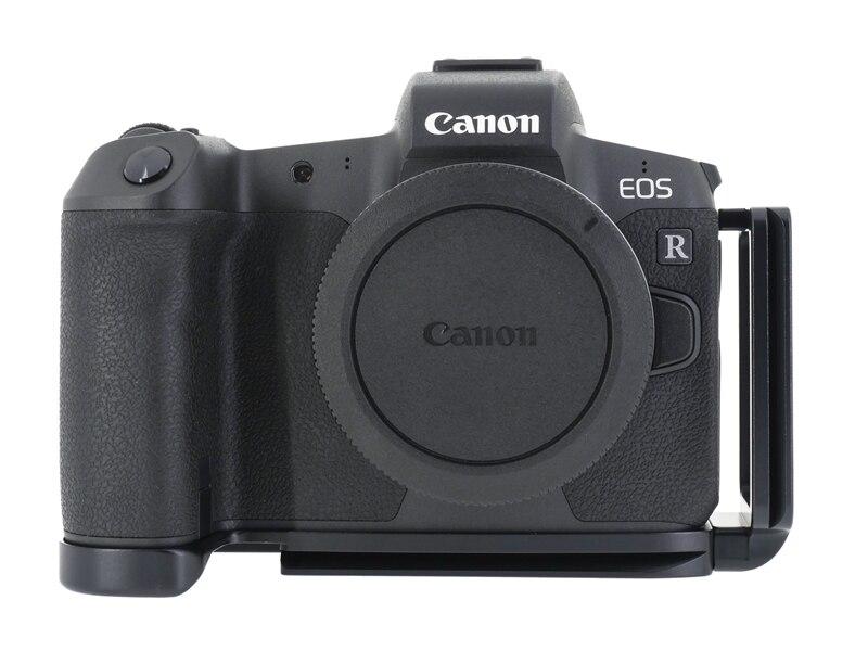 Support de fixation rapide pour trépied de Type L pour appareil photo Canon EOS R