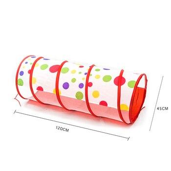 Faltbare Baby Spielen Haus Spielzeug Lagerung Zelte Pool-Rohr-Tipi 3 Stücke Pop-up Kinder Spielen Tunnel Zelt Kind Ozean Ball Spielzeug 985-Q40