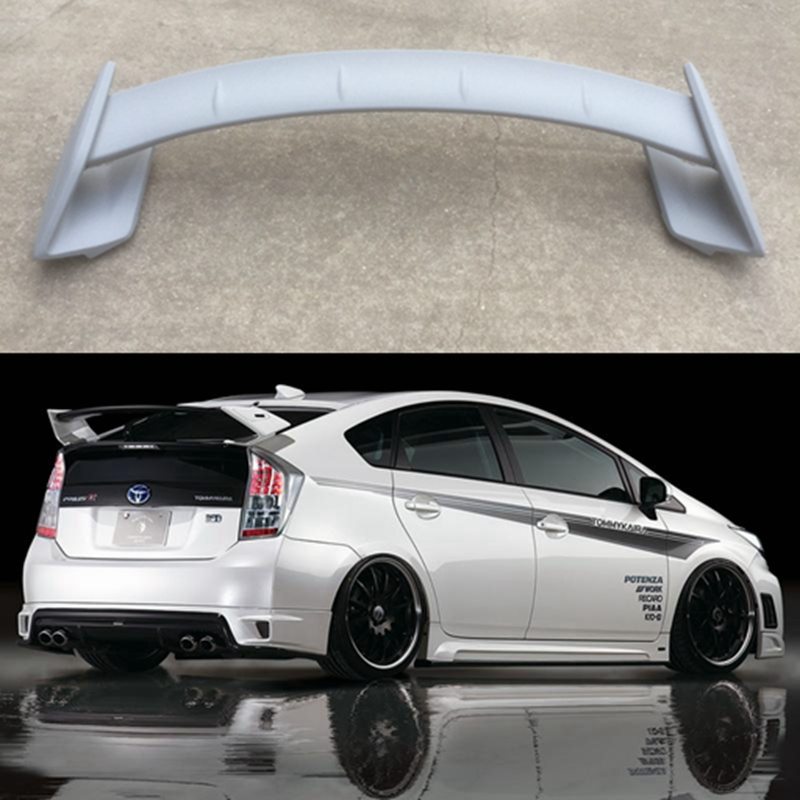 Car shape prius 2009-2014 ABS material primer color rear spoiler for Toyota Prius ROWEN style trunk spoilerCar shape prius 2009-2014 ABS material primer color rear spoiler for Toyota Prius ROWEN style trunk spoiler