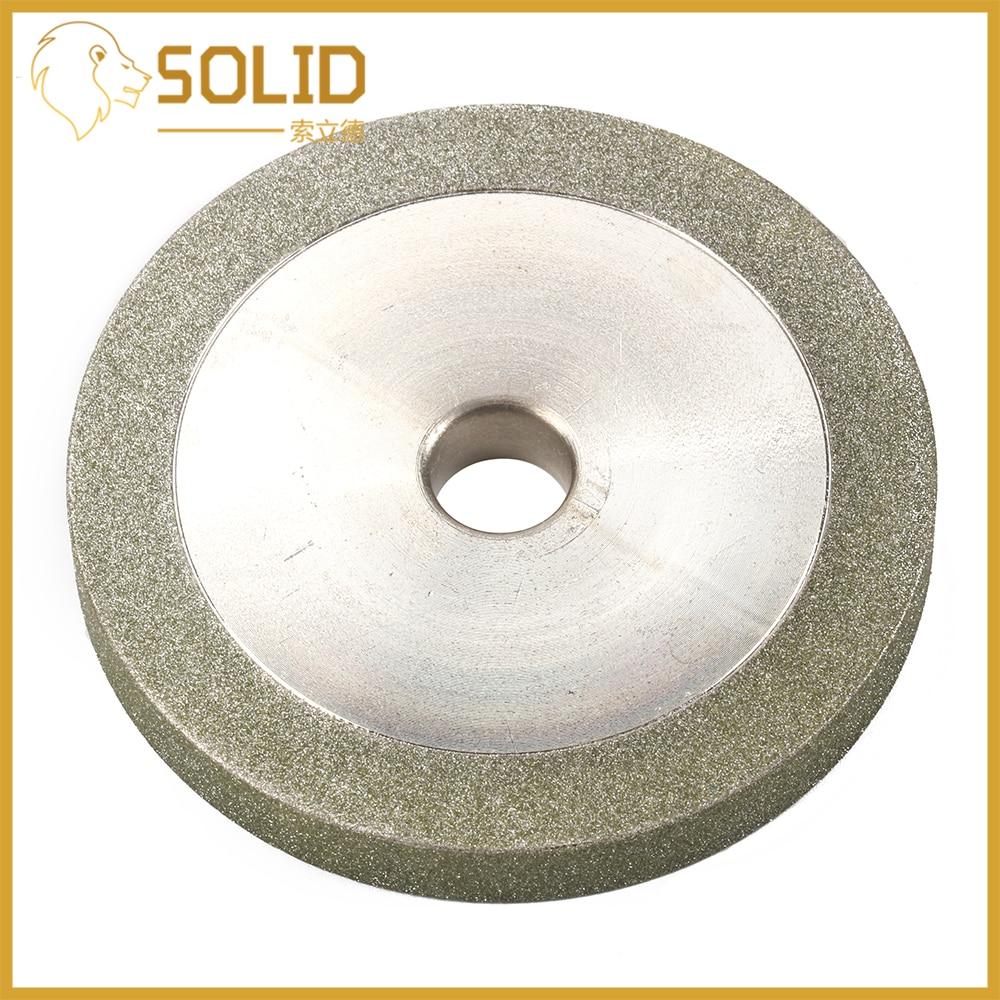 Diamond Grinding Wheel 78x12.7x10mm Grit150 Cutter Grinder Grinding Disc For Grinding Abrasive Cutting Tool