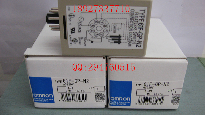 [ZOB] Supply of new original omron Omron level switch 61F-GP-N2 AC220V [zob] new original omron omron beam photoelectric switch e3jk tr12 c 2m 2pcs lot