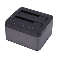 2.5/3.5 Pulgadas USB3.0 a SATA Adaptador de Disco Duro Estación de Acoplamiento para 2.5 o 3.5 pulgadas HDD SSD Caja UK Cable de Alimentación Estándar
