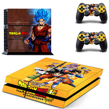 HOMEREALLY Stickers for Playstation 4 Dragon Ball Z ps4 skin Sticker playstation accessories Vinyl console sticker