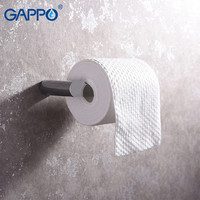 GAPPO Paper Holders bathroom tissue paper Holder toilet hanging storage holder wall mounted bathroom hardware accessories