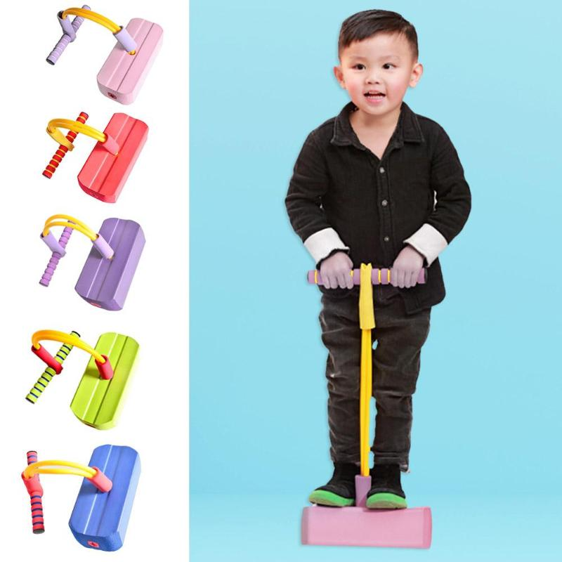 Outdoor Games Jump Pole Friendly  Exercise Balance Bouncing Shoes Kindergarten Sports Activities Pogo Sticks Environmental Prop