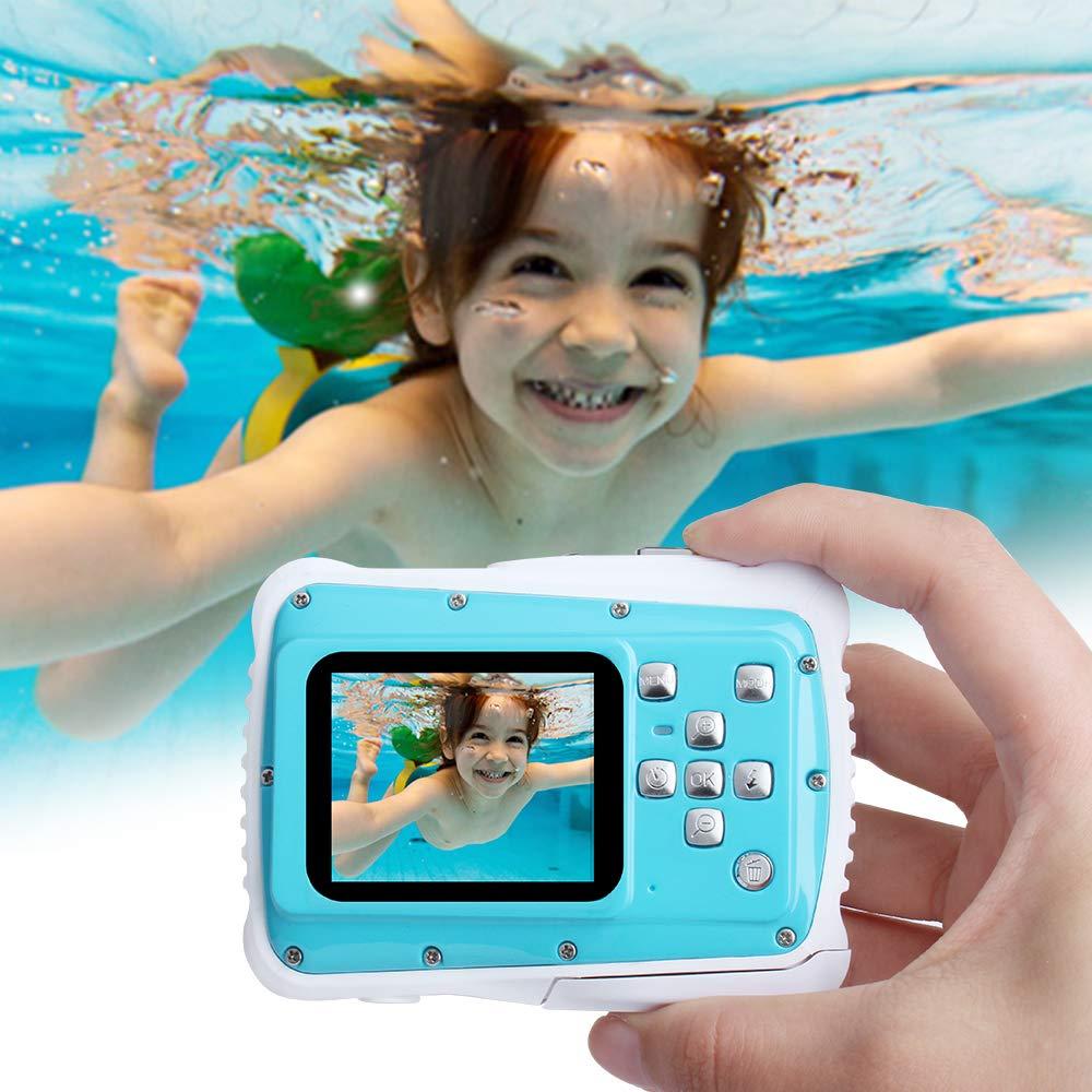 Enfants caméra sous-marine numérique étanche Sport nautique caméscope pour enfants cadeau d'anniversaire Mini Action Sport caméra numérique garçons