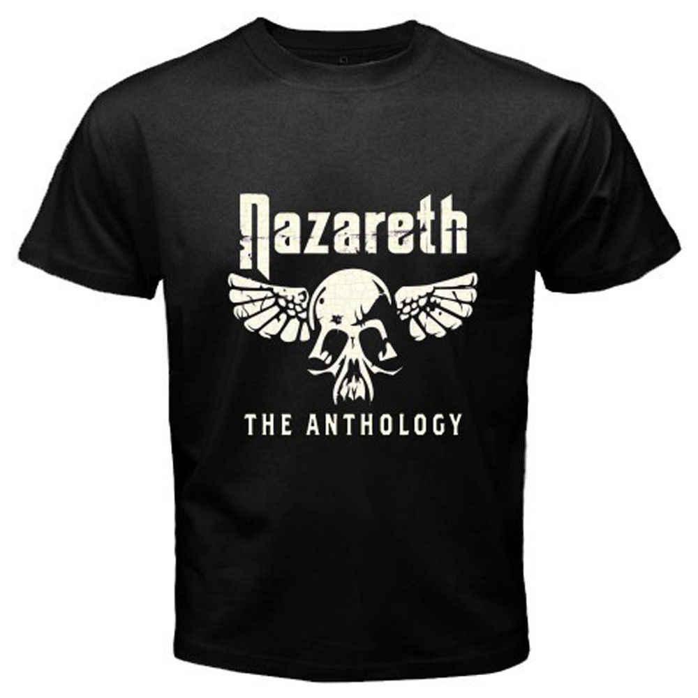 Nieuwe NAZARETH De Anthology Rock Band Classic heren Zwart T-Shirt S tot 3XL