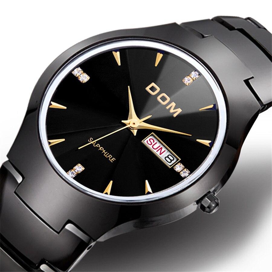 Relogio Masculino DOM Luxury Brand Analog sports Wristwatch Display Date Men's Quartz Watch Business Watch Men Watch 2017