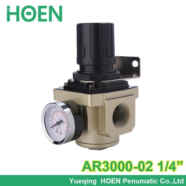 High quality Air pressure regulator pneumatic AR3000-02 thread 1/4 inch BSP SMC type air treatment units