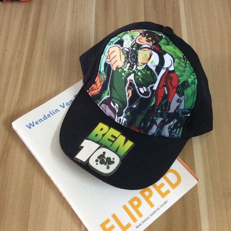 1pcs ben 10 Cosplay Hat Plush toy for Boy Children
