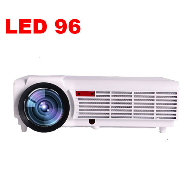 ATCO LED96 5500Lumens WXGA 1280x800 Home Theater led projektor 1080P HD Digital 3D Video HDTV HDMI USB TV LCD Projector beamer