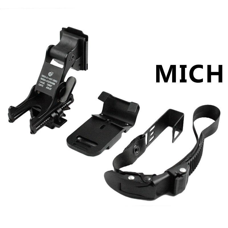 XUE NVG Rhino Support de Fixation pour Rapide Mich M88/Casque Tactique Lunettes de Vision de Nuit Rabattable /à kit de Montage pour PSV-7/Psv-14