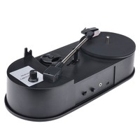 New Ezcap610P USB Turntable LP Record Vinyl to MP3 Converter Stereo CD Player Turntable
