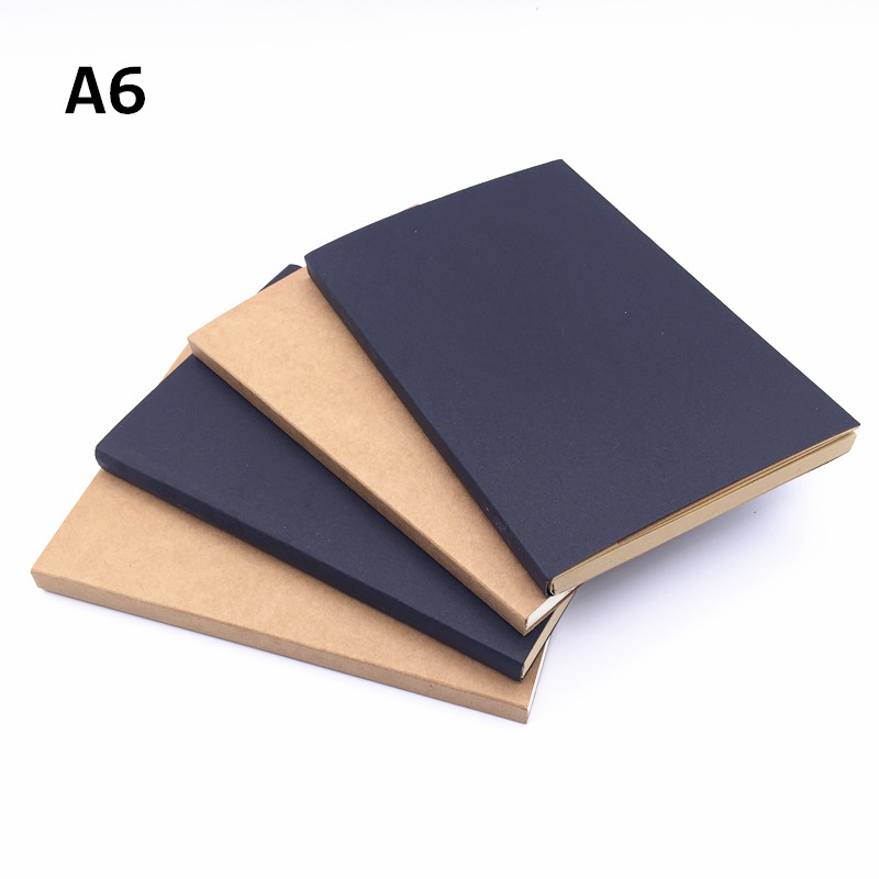 1pcs 64 Sheets 128page Wire-bound Sketchbook Sub Blank Painted This Sketch Notebook Notepad Two-color Optional