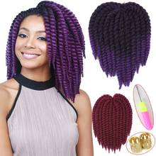 12″ Crochet Braids Havana Mambo Twist Crochet Hair Extensions Braiding Hair Extensions Curly Crochet Hair For Black Women