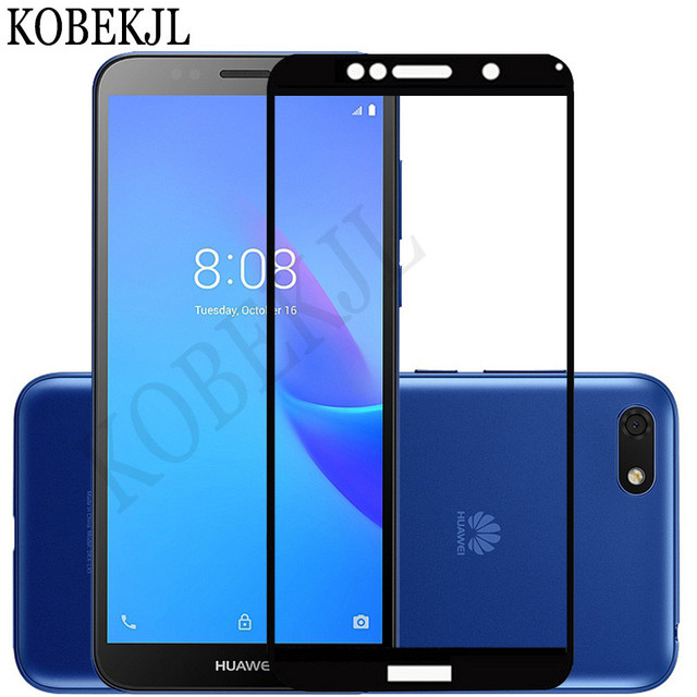 US $1 77 11% OFF|Screen Protector For Huawei Y5 Lite 2018 Tempered Glass  Huawei Y5 Lite Y 5 Y5Lite DRA LX5 Glass Full Cover Protective Film 5 45
