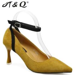 T q 2017 autumn women pumps 8cm fashion sexy high heels shoes ankle strap pointed toe.jpg 250x250