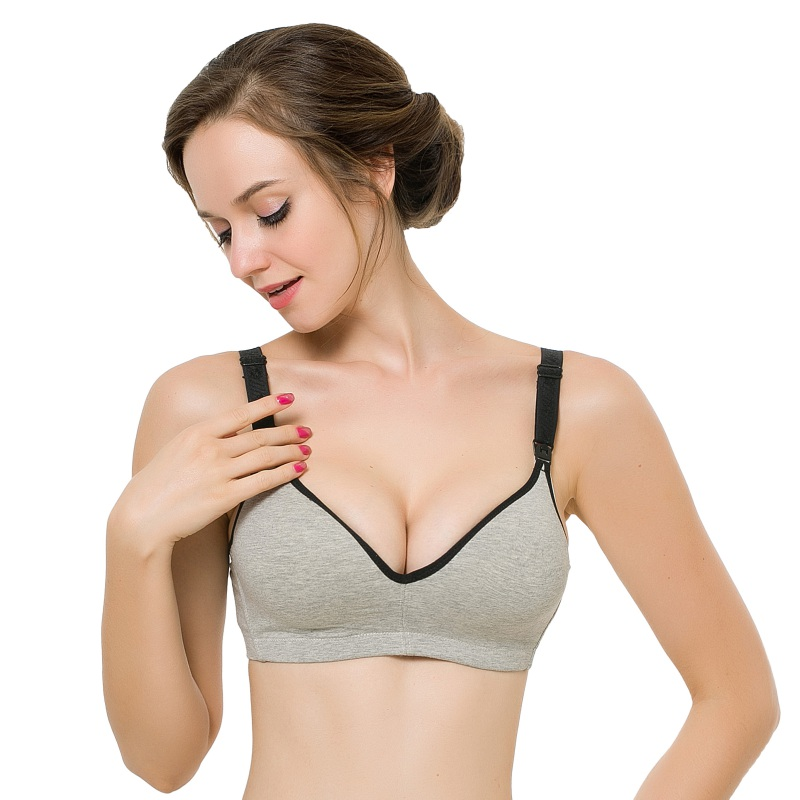 Bras that push away breasts