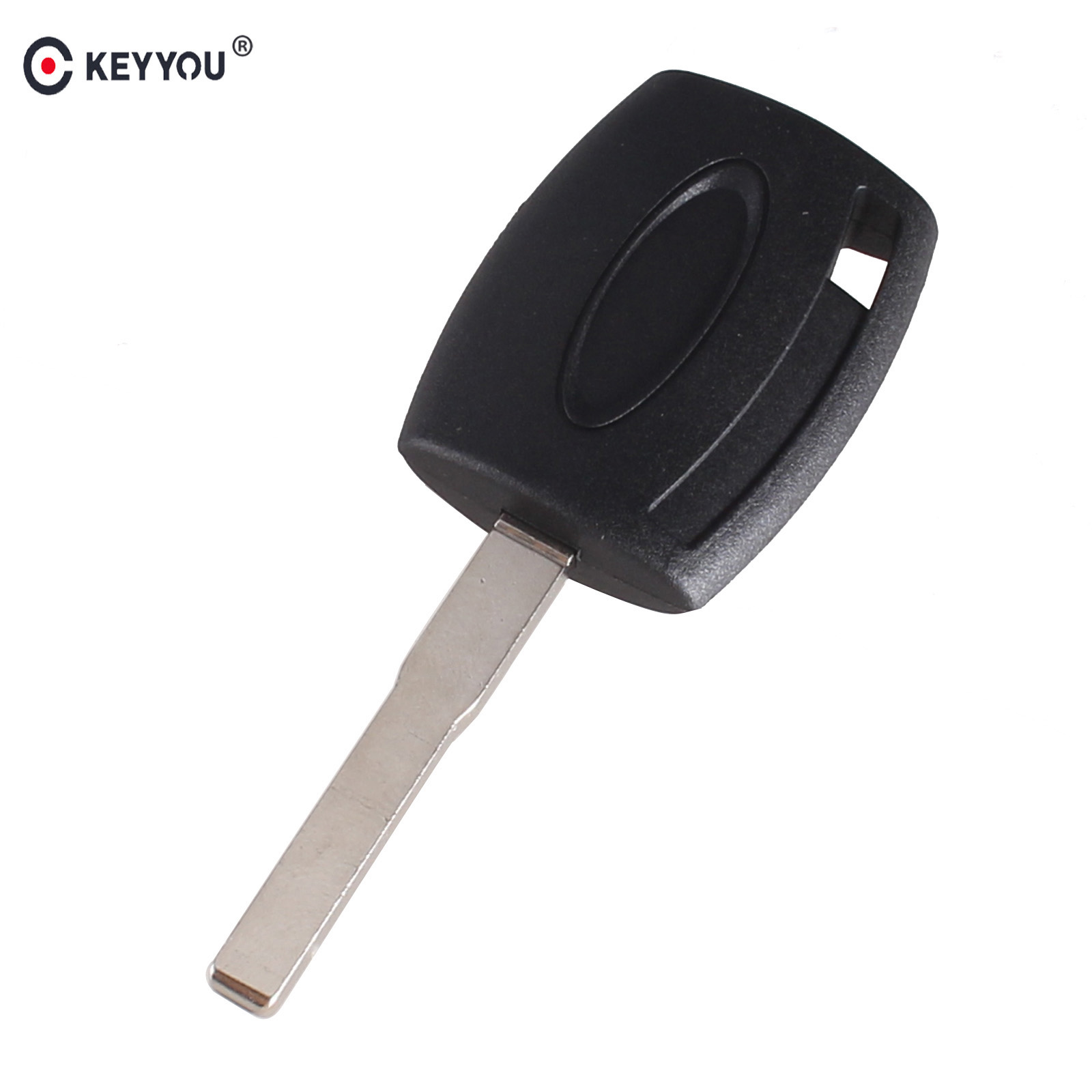 KEYYOU Transponder Key case shell for Ford Fiesta Mondeo Focus C-Max S-Max Galaxy Kuga HU101 Free shipping 2x 18 smd led license plate light module for ford focus da3 dyb fiesta ja8 mondeo mk4 c max s max kuga galaxy
