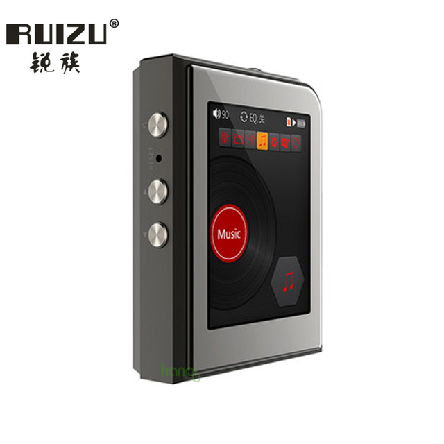 New Original RUIZU A50 HD Lossless Mini Sport MP3 Player With 2.5 Inch Screen Hifi MP3 Music Player Support 128G TF Card/DSD25