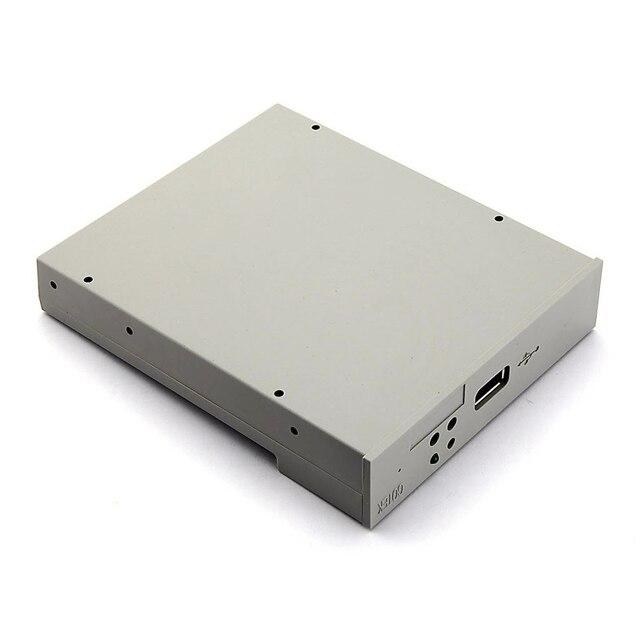 SFR1M44-U USB Floppy Drive Emulator para Equipamento de Controle Industrial Branco