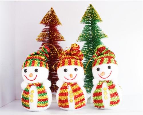 1Pcs Christmas Snowman Bubble Doll Festival Christmas Tree