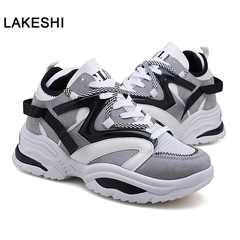 2019 New Men Vulcanized Shoes Unisex Trainers Fashion Sneakers Breathable Casual Sneakers Men Shoes Men Casual Shoes Big Size 45